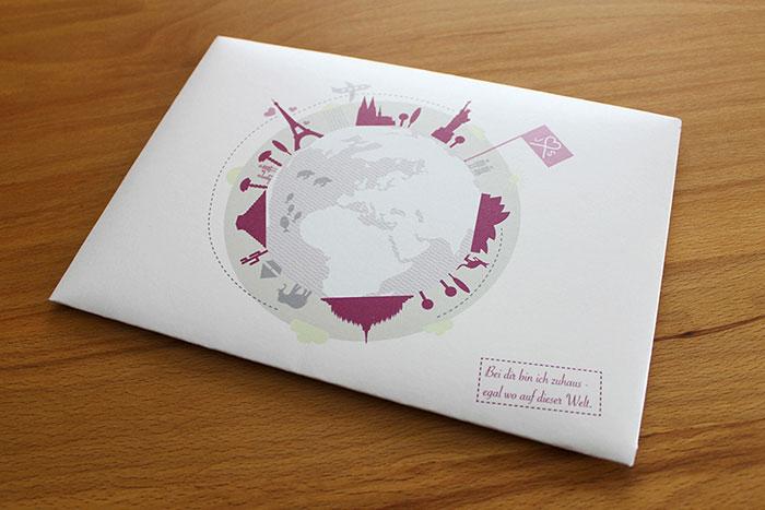 Kunstfliegerei - Print - Einladung